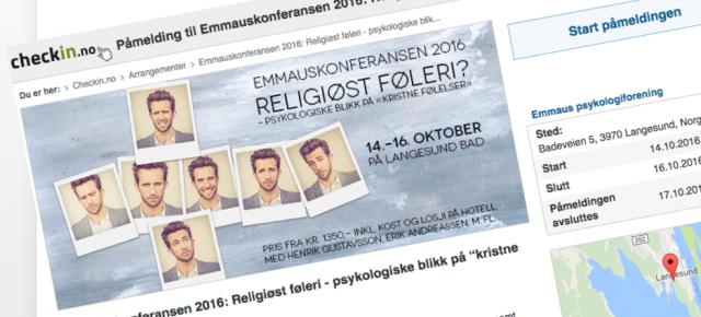Meld deg på Emmauskonferansen 2016!