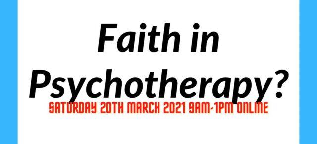 Britisk seminar om tro i terapi